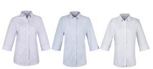 2906T Bayview Ladies 3/4 Sleeve Shirt