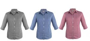 2909T Brighton Ladies 3/4 Sleeve Shirt