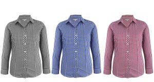 2909L Brighton Ladies Long Sleeve Shirt