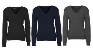 LP3506 Ladies V-Neck Pullover