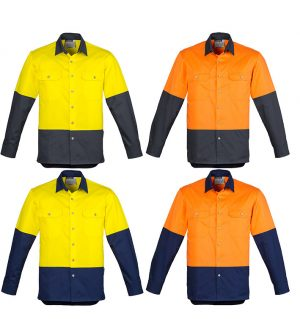 Hi Vis Spliced Industrial Shirt