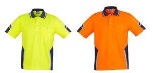 Syzmik Unisex Hi Vis Squad Polo - Short Sleeve