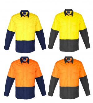 Hi Vis Spliced Rugged Shirt