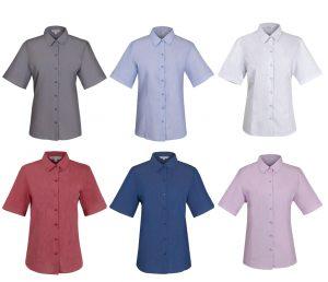 2905S Ladies Belair Short Sleeve Shirt