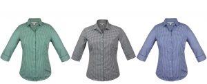 2907T Epsom Ladies 3/4 Sleeve Shirt