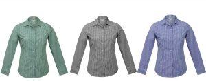 2907L Epsom Ladies Long Sleeve Shirt