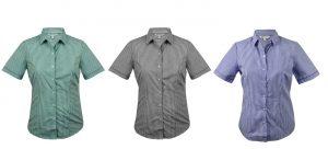 2907S Epsom Ladies Short Sleeve Shirt