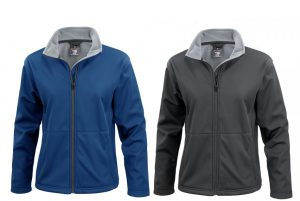 Ladies Soft Shell Fleece Lining Jacket
