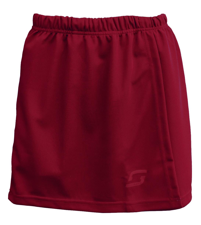 Stadium Netball Skirt-Claret