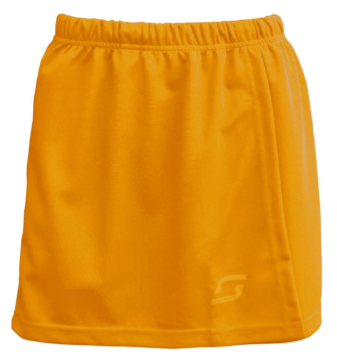 Stadium Netball Skirt-Gold