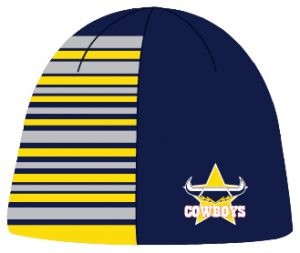 NRL Quarter Stripe Beanies-Half Price Clearance!!