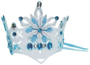 Design your own ice princess crown