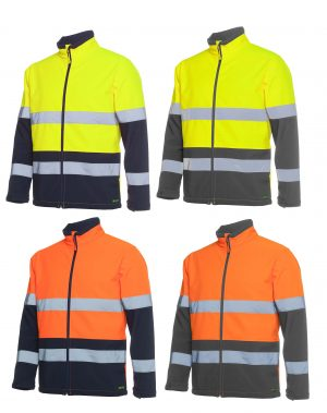 Hi Vis Water Resistant Softshell Jacket