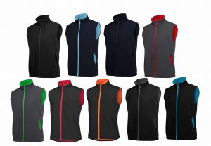 3WSV MENS PODIUM WATER RESISTANT SOFTSHELL VEST