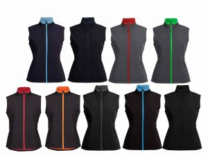 3WSV1 Ladies PODIUM WATER RESISTANT SOFTSHELL VEST