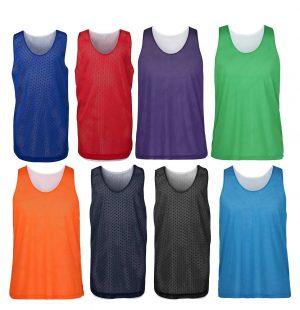 7KBS2 KIDS AND ADULTS-REVERSIBLE TRAINING SINGLET