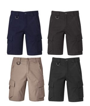 ZS360 Syzmik Mens Streetworx Curved Cargo Short