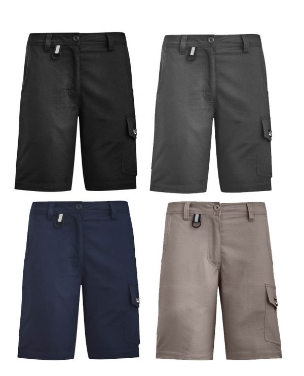 ZS704 Syzmik Womens Rugged Cooling Vented Short
