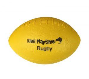 School Playground Rugby Ball