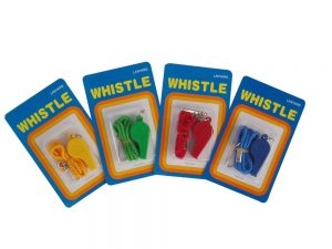 Whistle - Plastic with Lanyard